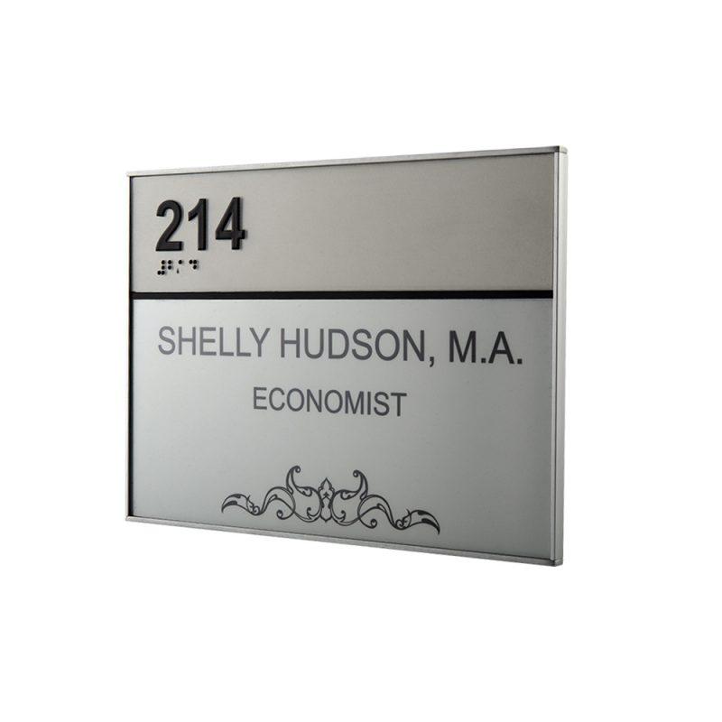 ADA room sign Sharp family