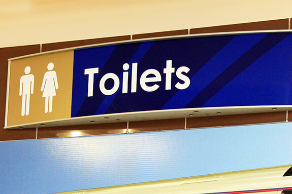 Vista System Family Bathroom Signs For Business