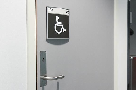 Vista System Family Restroom Signs