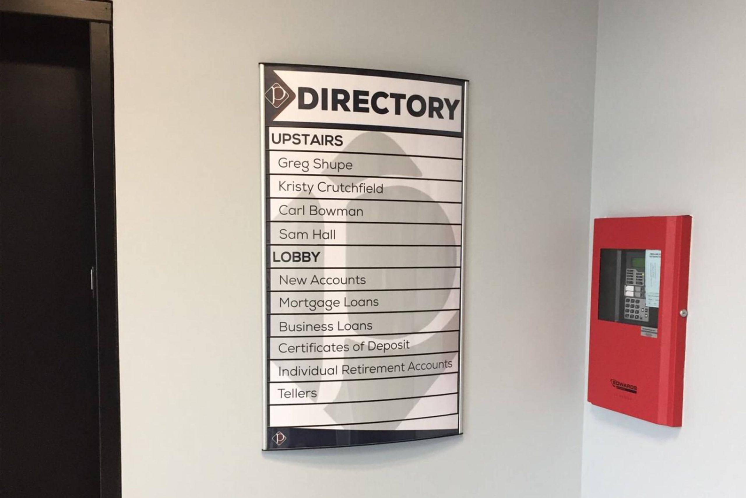 Vista directory signs - wayfinding per se