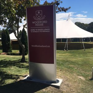 Vista Pylons – A welcomed addition to School signage
