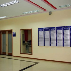 Way Finding Solution at Zaman University Phnom-Penh Cambodia