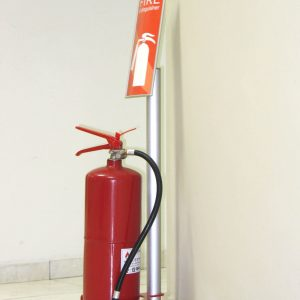 Vista System International Fire Extinguisher Stand Helps Achieve Greater Safety