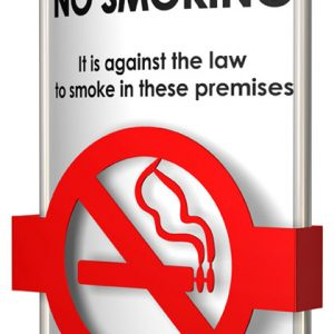 "Vista System International has Launched a ""No Smoking"" Wall Sign"
